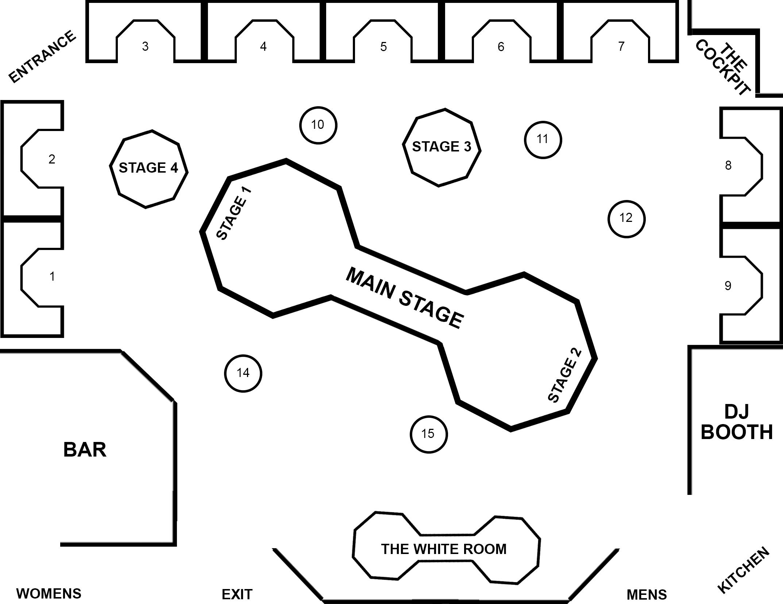 G5 Houston Floor Plan LAYOUT - 5 TABLES